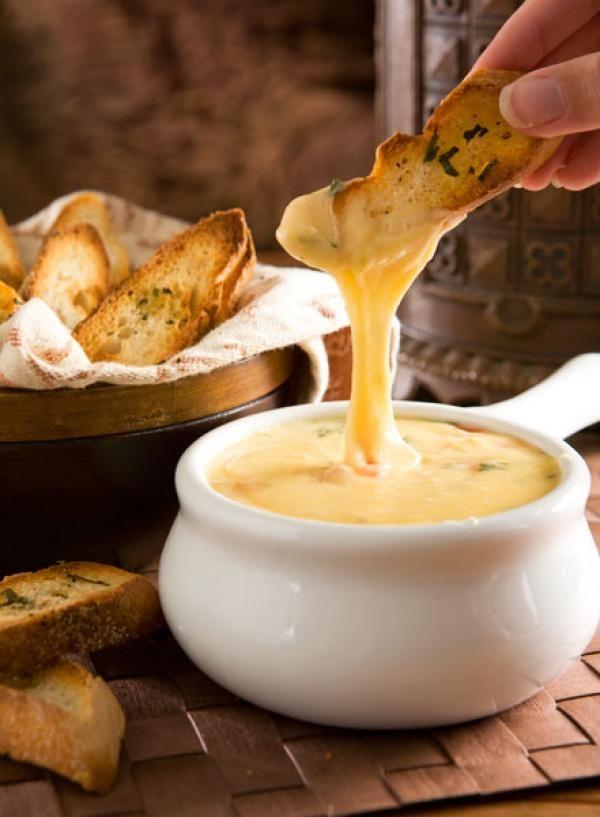 Fondue - melty cheese