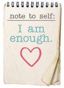 Building self-esteem