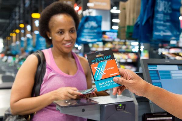 Savings: Checkers Xtra loyalty card
