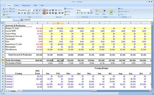 excel spreadsheet skills