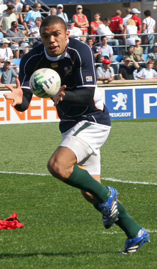 Bryan Haganal, from rugby balls to rugby apps